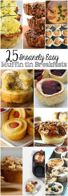 25 Insanely Easy Muffin Tin Breakfast Recipes
