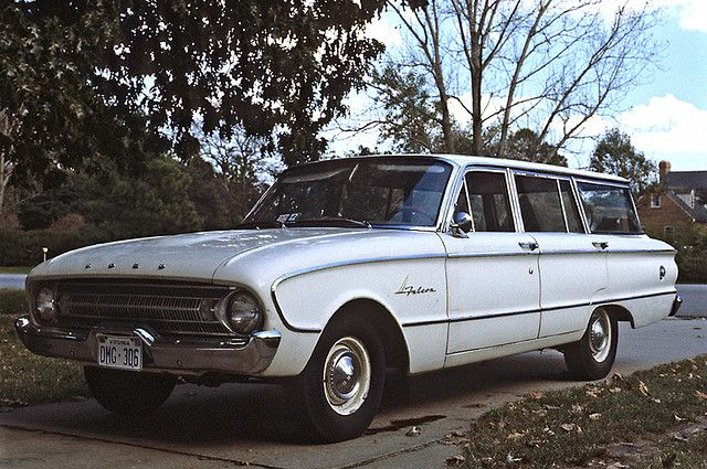 1961 ford falcon station wagon oh yah what saved us from for Garage ford reparation