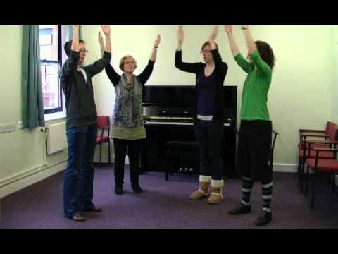 Bubblegum Man - YouTube.  This would be a fun vocal warm-up routine to teach young singers!