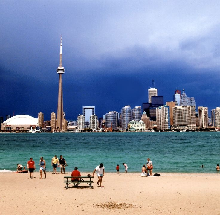 Toronto, Canada. my husband and two year old daughter and I emigrated here in 1957 . It had no high rise buildings then.
