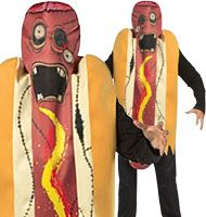 Zombie Hot Dog - Adult Costume Fancy Dress
