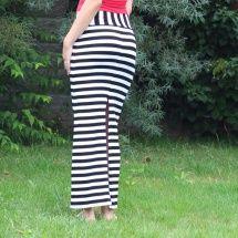 Dlouhá sukně - pruhovaná