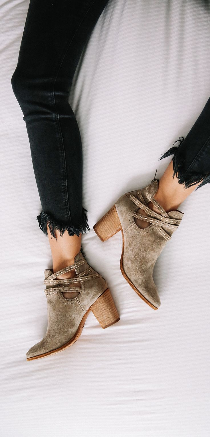 Naomi Pickstitch Shootie | The Frye Company