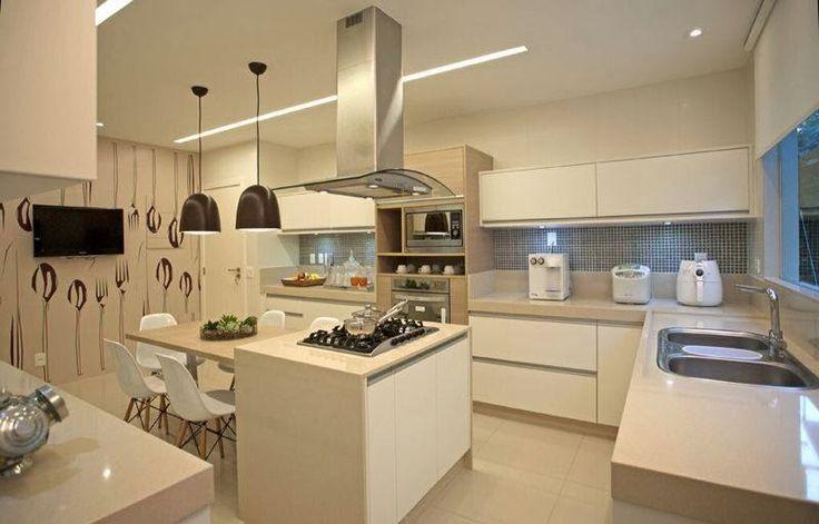Construindo Minha Casa Clean: Top 10: Cozinhas Modernas Decoradas!!!