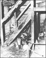 Sylvia Likens ~ The basement she was tortured in.