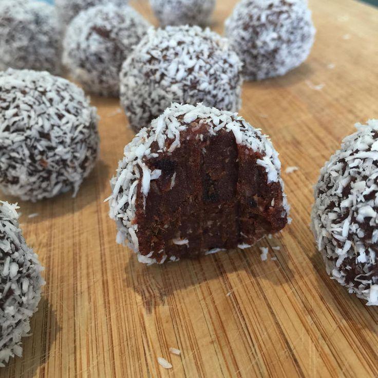 Chocolate-rum balls