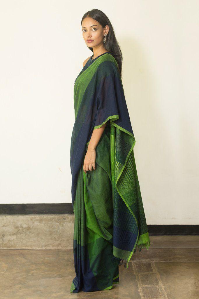 Seaweed Saree from FashionMarket.lk