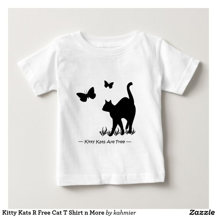 Kitty Kats R Free Cat T Shirt n More  15% off #zazzle #leatherwooddesign