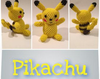 Figura de goma de Pikachu (Pokémon), Loomigurumi de telar del arco iris, arco iris telar de carácter