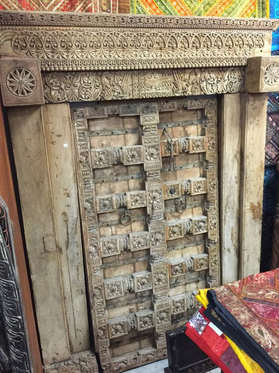 Indian Haveli Doors Furniture Antique Old World by MOGULGALLERY