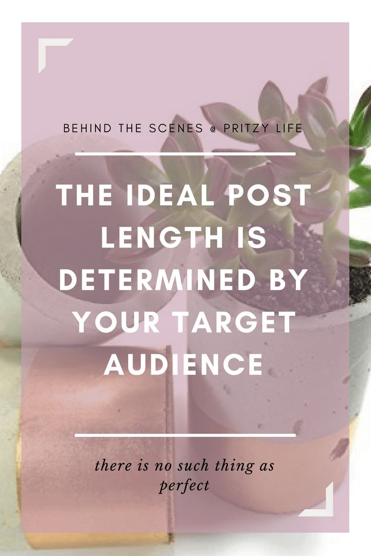 Post length: Are you writing for real readers or for search engines? - Pritzy Life
