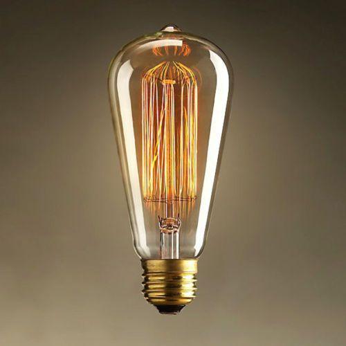 Edison-Vintage-Antique-ST64-220V-40W-E27-Industrial-Light-Lamp-Bulb-Droplight