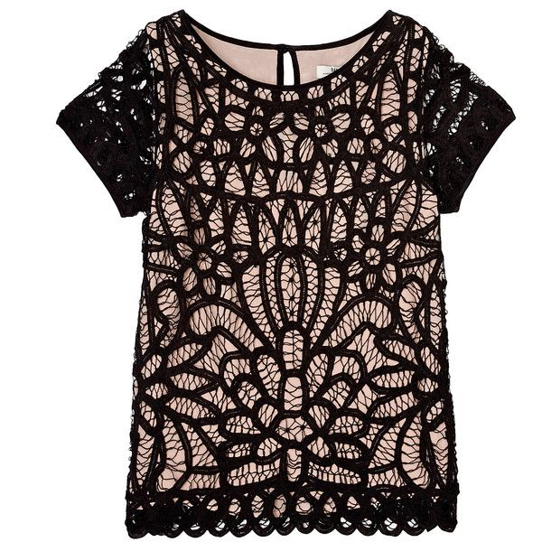 DAY Birger Et Mikkelsen Day Imperial Lace Short Sleeve Top found on PolyvoreLace Tops, Closets Please, Clothing, Imperial Lace, Design Fashion, Sleeve Tops Too, Shorts Sleeve, Lace Shorts, Birger