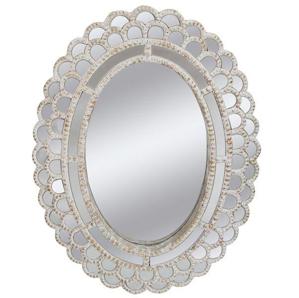 M s de 25 ideas incre bles sobre espejo ovalado en for Espejos para colgar