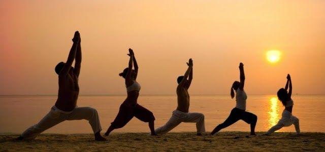 una manera mu fresca y sencilla de practicar yoga