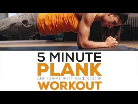 """5-minute """"Almost-No-Work"""" Plank Workout - Eat. Fit. Fuel."""