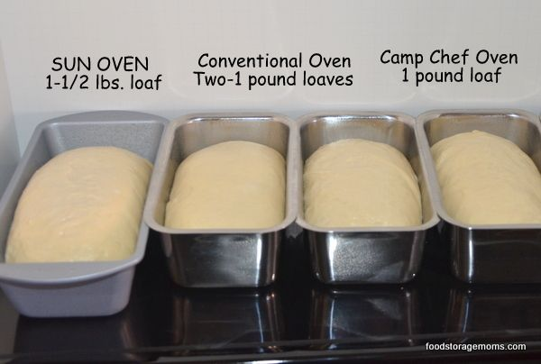 Three Ways To Bake Bread In Different Ovens by Food Storage Moms