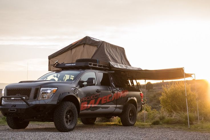 Meet This Nissan Titan XD PRO-4X Project Basecamp Nissan has finally launched itsTitan XDPRO-4X Project Basecamp before the scheduled debut at the Overland Expo 2017 WEST in Flagstaff, Arizona. The Nissan Titan XD PRO-4X Project Basecamp is based onTitan XD PRO-4X Crew Caband it features around 60 different aftermarket elements and...
