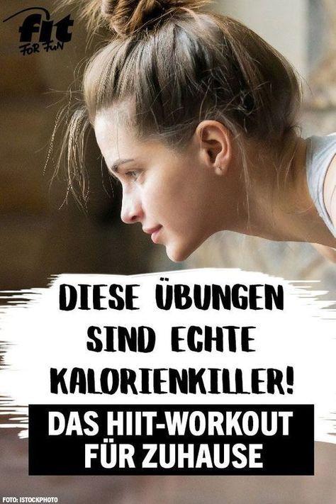 HIIT-Workout für zu Hause: Diese Übungen sind echte Kalorienkiller! – Svenja Heins