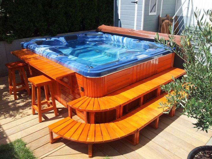 Πάνω από 25 κορυφαίες ιδέες για Jacuzzi whirlpool outdoor στο - whirlpool sichtschutz