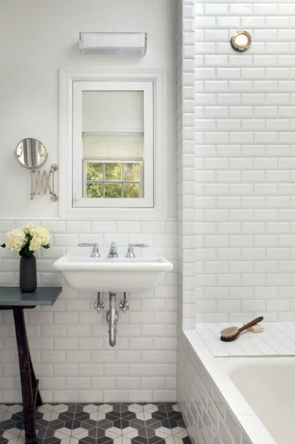 Love the floor. Heath tile. Mark Reilly Architecture | Remodelista Architect / Designer Directory