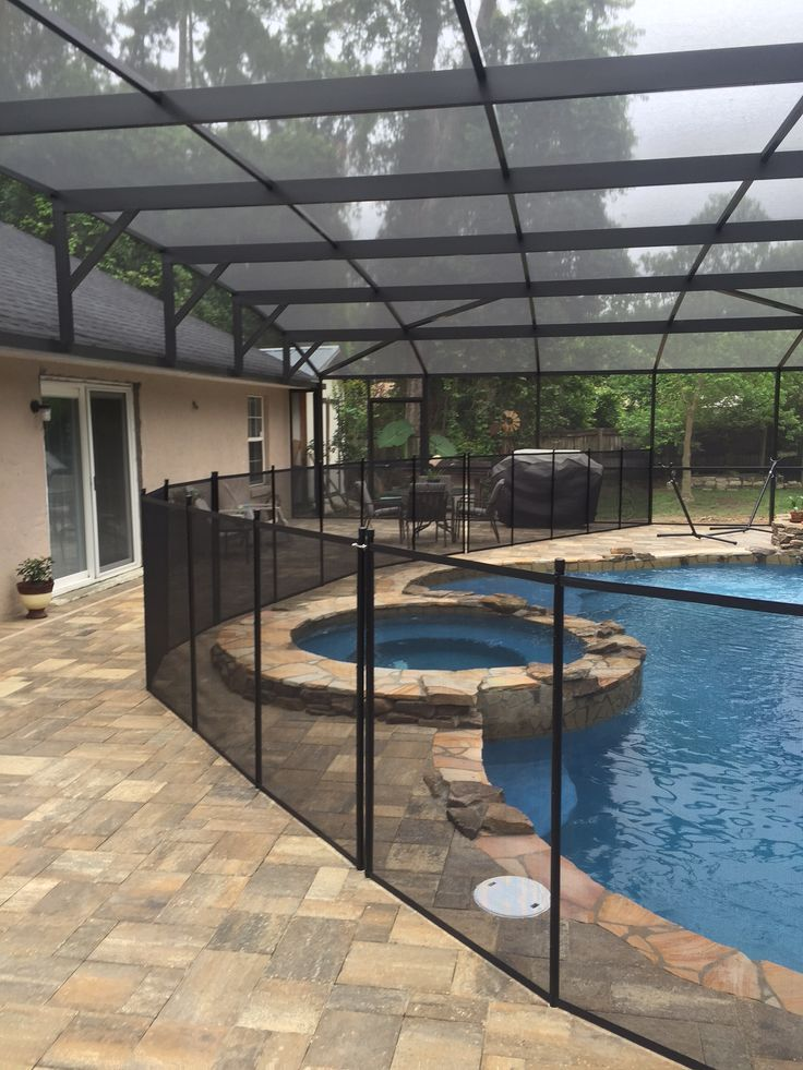 2019 Stylish Pool Fence Ideas Inground Aboveground Diy Summer Safety Cheap Privacy Pool Fence Pool Aluminum Pool Fence