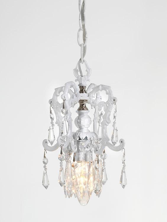 Etsy Lightlady White Cottage Pendant Light Lighting Chandelier Mini 119 00