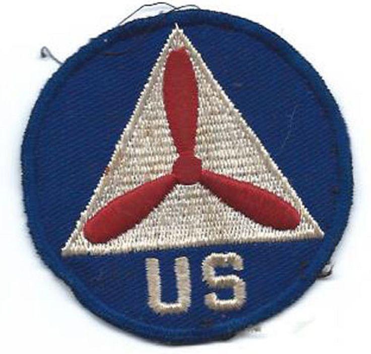 WWII Civil Air Patrol On Twill Patch