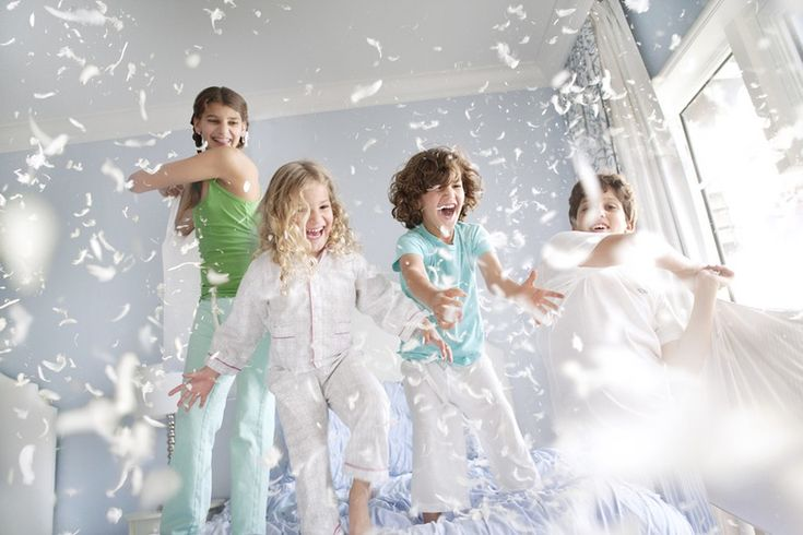We will end the session with a fun pillow fight session complete with feathers! {RFP}