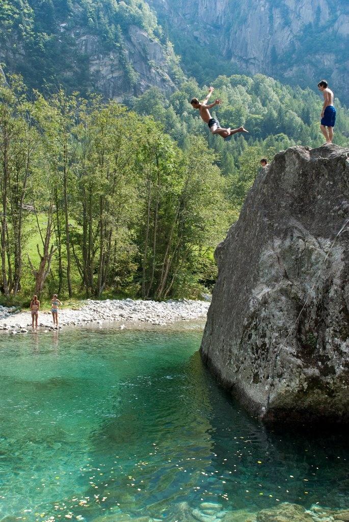 Val di Mello  val Masino in provincia di Sondrio.