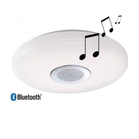 encuentra este pin y muchos ms en lamparas de diseo plafon de techo speaker led with lamparas de techo de led