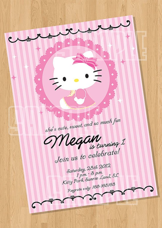 Birthday Party invitations with style, ship to Canada.