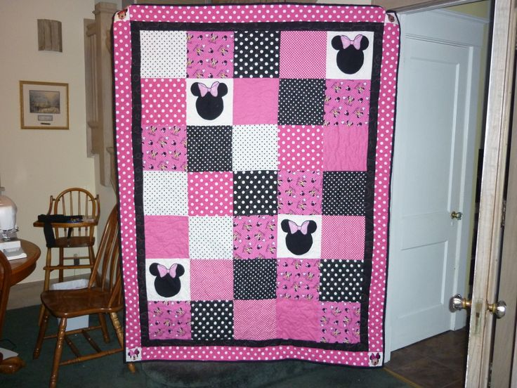 My Granddaughter Stella S Minnie Mouse Quilt Quilts
