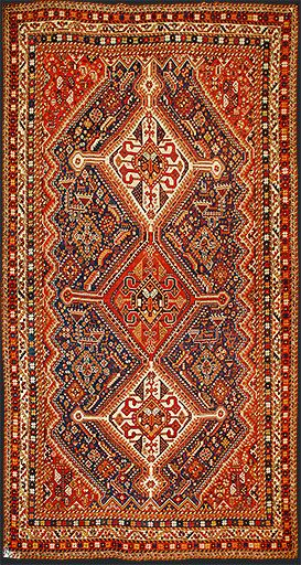 Persian Qashqai Oriental Rug #43399