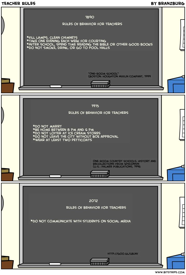 teacher rules & social media: Teacher Rules Funny, Teacher Rulesfunni, Changing Teacher