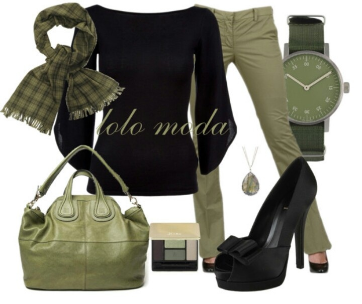 I live the olive green. A classy office or causal meeting outfit.