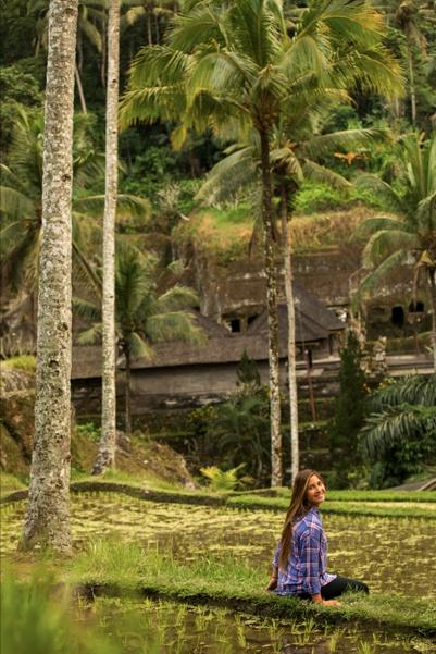 trini segura, nuestra rider en indonesia
