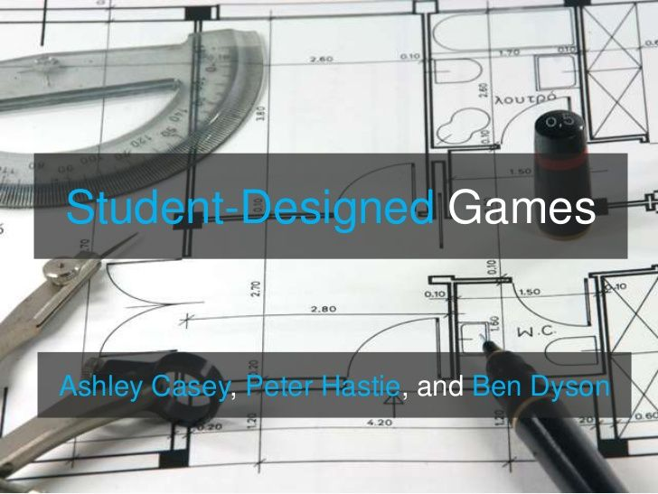 Presentación. Games-Making: What we know and future research agenda. Ashely Casey, Peter Hastie y Ben Dyson.