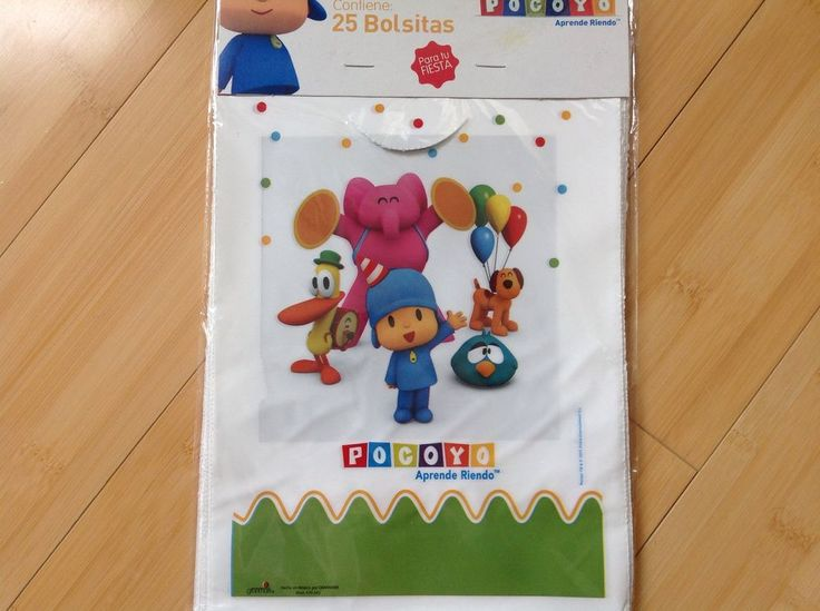 NEW 50 POCOYO LOOT BAGS PARTY FAVOR SUPPLIES,FOR CANDY or TREATS #Granmark #Birthday