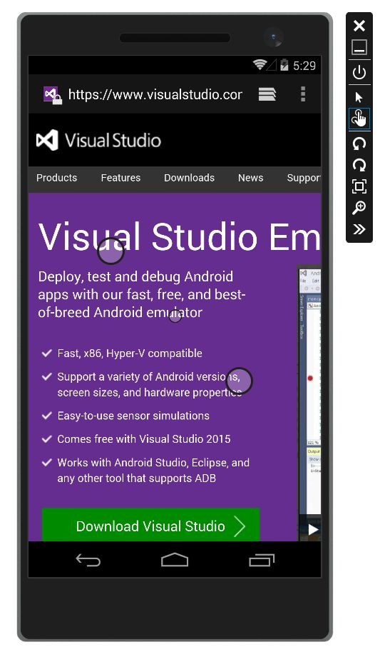 Introducing Visual Studio's Emulator for Android - Microsoft Application Lifecycle Management - Site Home - MSDN Blogs
