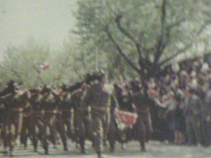 Sfilata - 1967 - con M° Imelio...