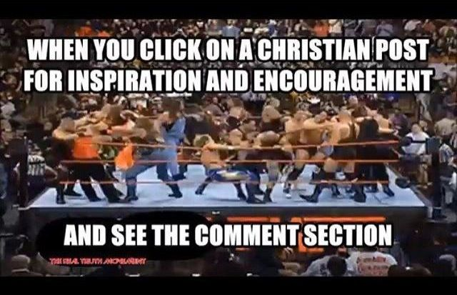 Christian Funny Pictures Facebook Comment Policy
