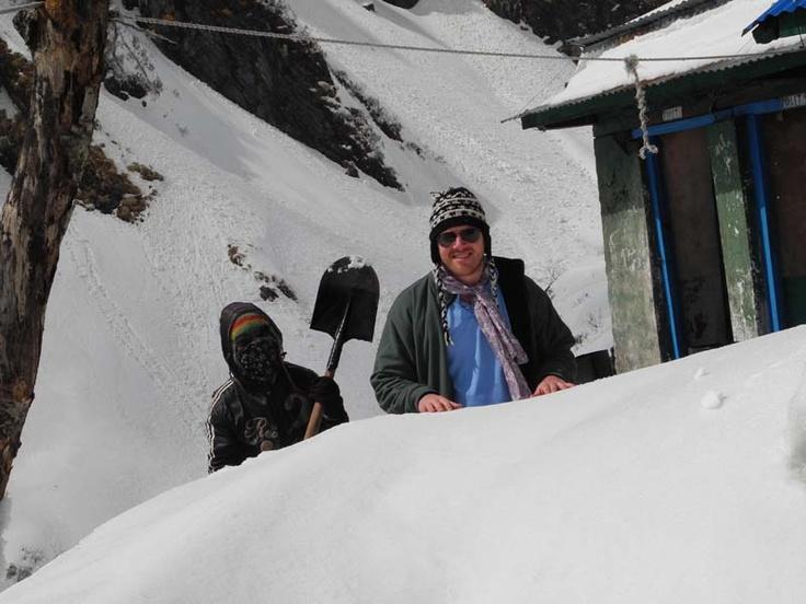 David Urmann At Machhapuchhre