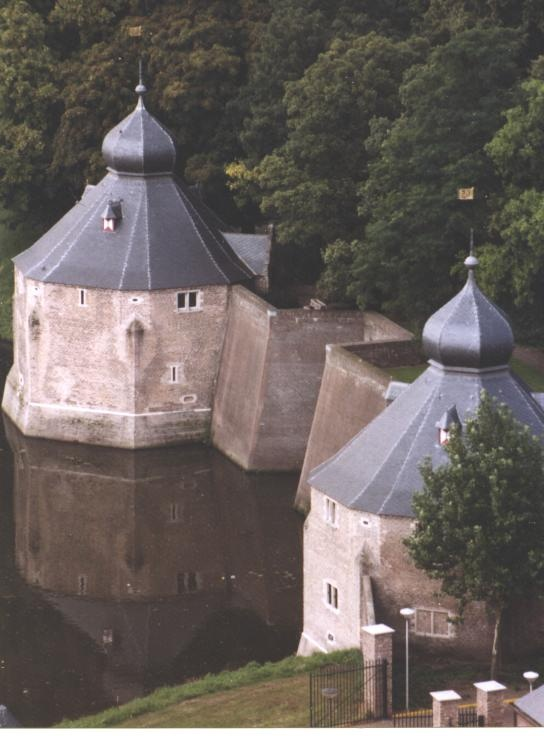 old Spanish fortifications in Breda