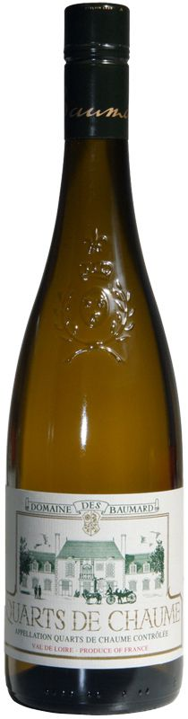 Quarts de Chaume is essentially a late harvest Vouvray (Chennin Blanc) and perhaps my all-time favorite dessert wine. Baumard is my favorite brand.