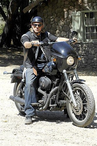 "Charlie Hunnam, ""Sons of Anarchy,"" 2008."