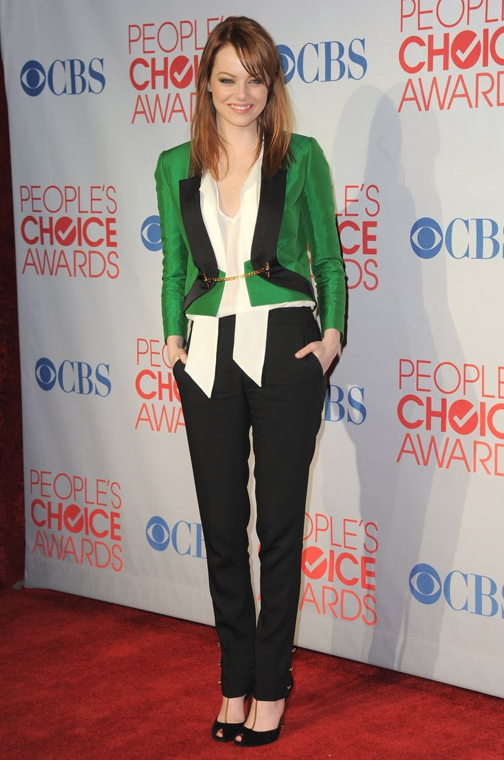 To date, this head-to-toe Gucci look Emma sported at the 2012 People's Choice Awards is one of our red-carpet favorites.