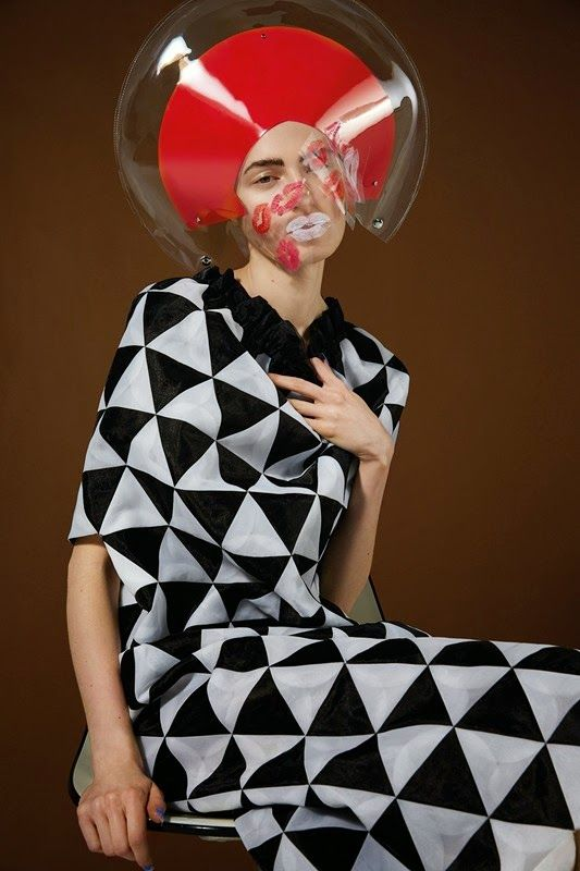 """Pressure Space"" Junya Watanabe fashion by Nicolas Coulomb for Dazed Digita"