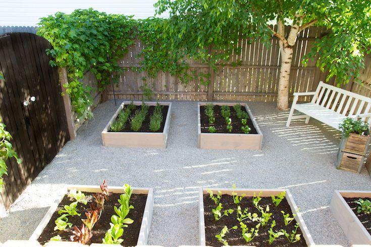 Raised Herb Garden An Outdoor Space Makeover Raised Herb Garden Vegetable Garden Raised Beds Patio Herb Garden