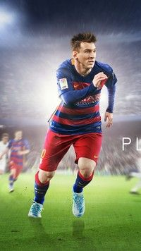 Lionel Messi w akcji